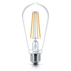 Philips Classic LEDbulb 7-60W E27 827 ST64 claire FIL DIM, Réf. 74918