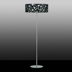 Mantra floor lamp MOON WHITE AND BLACK 4L, Item no. 43860