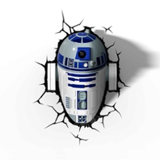 3D Wall light Star Wars R2-D2, Item no. 30063