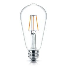 Philips Classic LEDbulb 4-40W E27 827 ST64 clear FIL, Item no. 74914