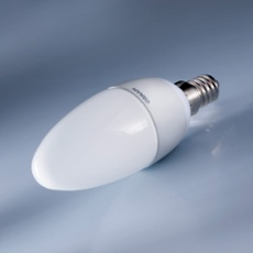 Osram LED Candle E14 6W, warmweiß, frosted frosted