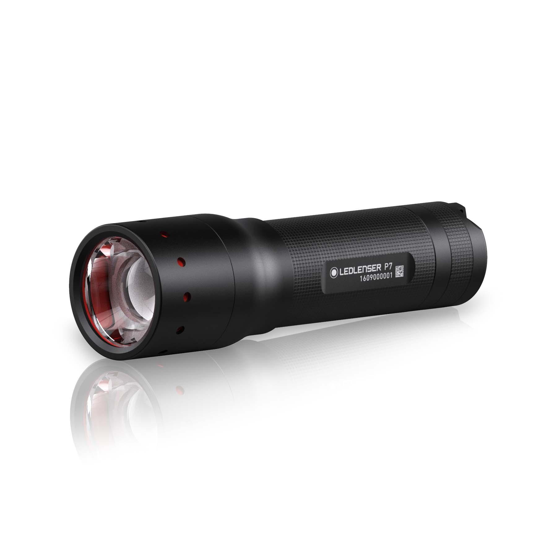 Ledlenser P7 fokussierbare High Power LED-Taschenlampe (Gen. 2017) 501046