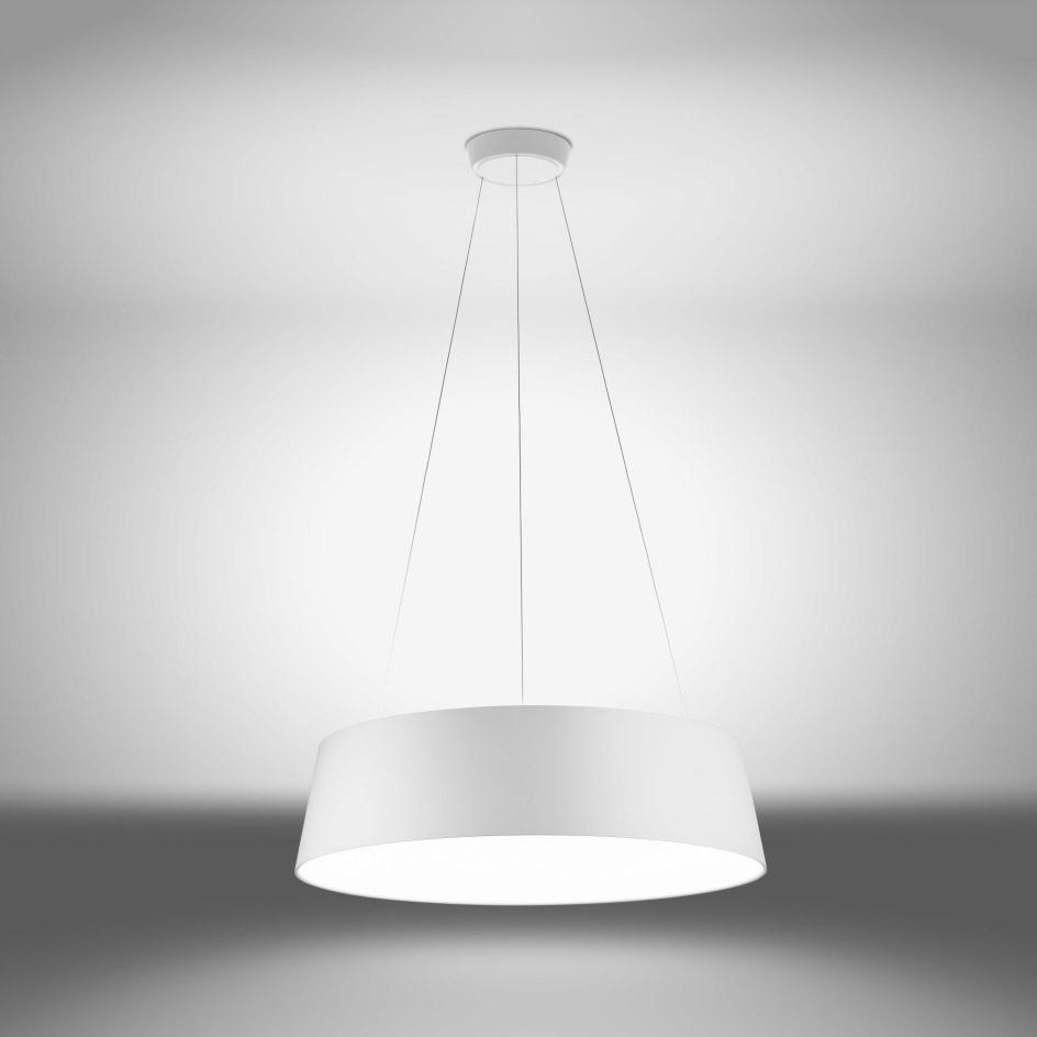 Linea Light S.r.l. Linea LED-Pendelleuchte Oxygen P 50W weiß 8093