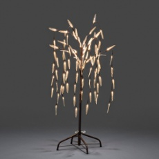 LED weeping willow, 180 warmwhite LEDs 130cm