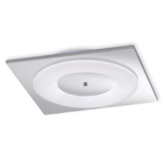 Honsel ceiling light Piano, square