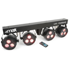 Max LED PARBAR 4Way Kit 3x 4in1 RGBW, ArtNr. 30413