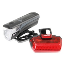 CONTEC Speed-LED LED bike light set, Item no. 31006