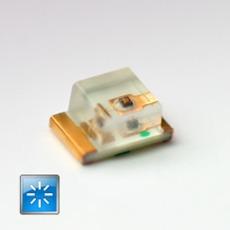 Superbright SMD LED blue 80mcd 120�  3.4V