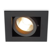 SLV KADUX 1 GU10 Downlight square