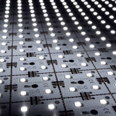 LED Matrix mini, white, 9x1, 24V, 36 LEDs, 4000K 9x1, 36 LED (612lm), 4000K