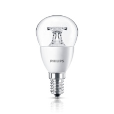 Philips CorePro LEDluster 5,5-40W 827 E14 P45, Item no. 74237