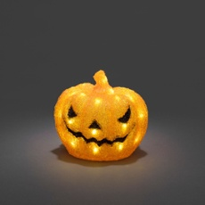 Acrylic LED pumpkin 32 white LEDs