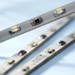 Réglette à LED SMD vertes 6 x 60mcd 120° 80mm 12V, Réf. 50501