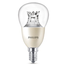 Philips MASTER LEDlustre klar 8-60W 827 E14 P50 DIMTONE, ArtNr. 74909