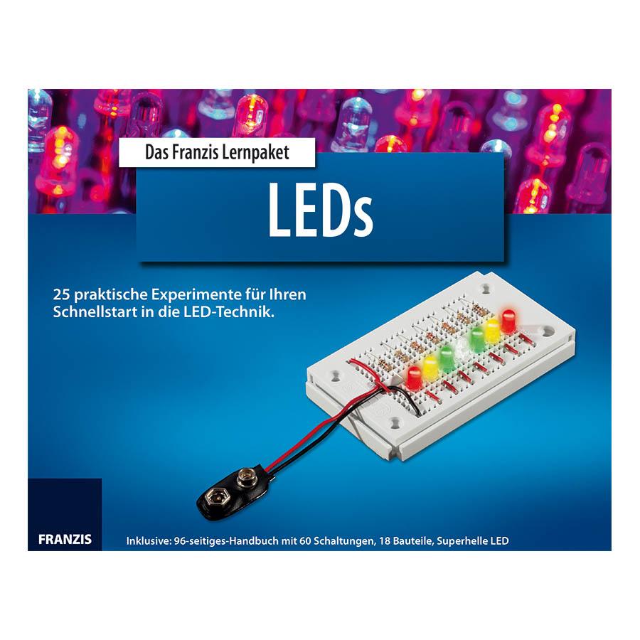 Franzis Verlag GmbH Das Franzis Lernpaket LEDs 9783645650656