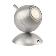 Lirio table lamp Retro Planet, aluminium aluminium
