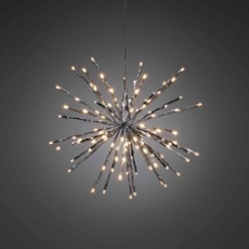 LED star lightball  280 LEDs warmwhite 55cm