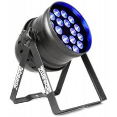 BeamZ BPP205 LED PAR 64-18x15W 5-1 PEN IR DMX, Item no. 30394