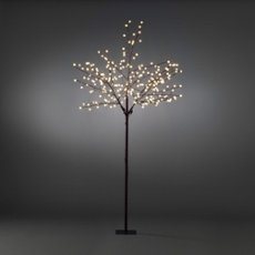 LED light tree, 240 warmwhite LEDs 250cm