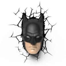 3D Wandleuchte Batman Maske