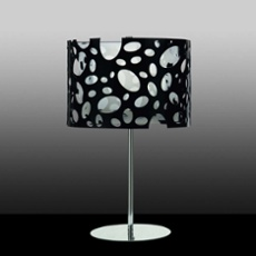 Mantra table lamp MOON WHITE AND BLACK 1L BIG, Item no. 43859
