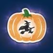 LED lantern Halloween witch, Item no. 97915