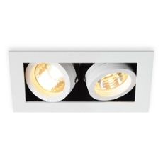 SLV KADUX 2 GU10 Downlight square