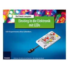 The Franzis learning package Introduction to electronics with LEDs, Item no. 30247