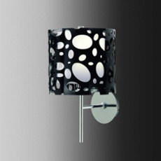 Mantra wall light MOON BLACK 1L, Item no. 43868
