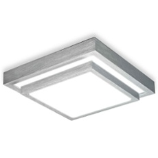 ESTO ceiling light PROTEUS Acryl square 32cm 32cm