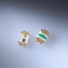 Rohm 0402 SMD LED gr�n 35mcd 120� 2.2V