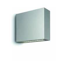 PODIUM Topaz LED wall lamp 6x2.5W high-grade steel