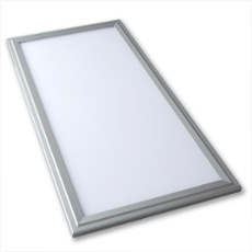 Lumego SIRIUS LED Panel silver 60 x 30cm, 3000K warmwhite