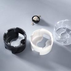 Carclo Lensholder round for Seoul, black black