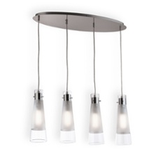 Ideal Lux KUKY CLEAR SP4 pendant light