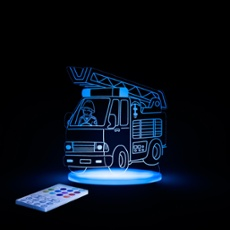 LED Night light Fire Engine