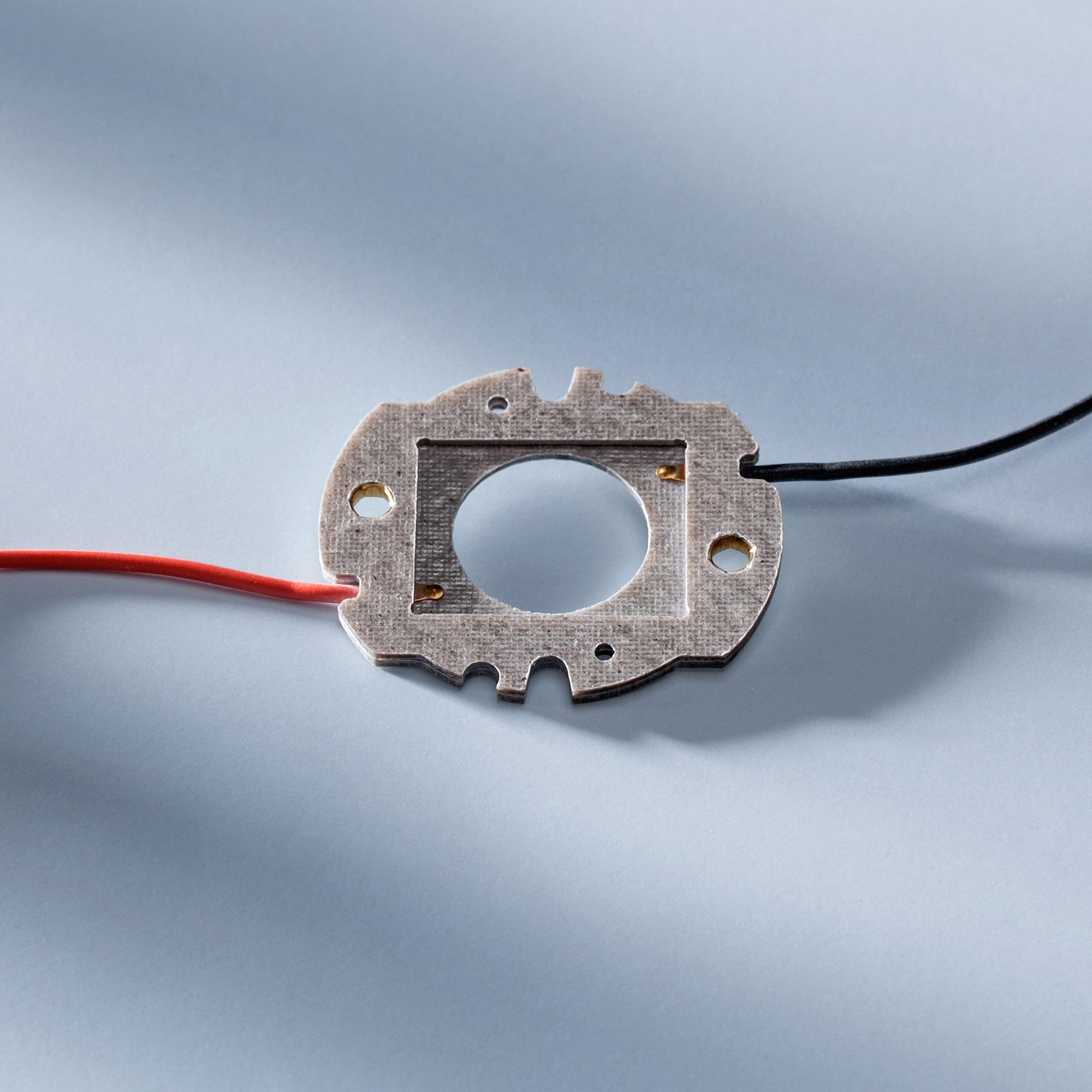 Bender & Wirth GmbH & Co. KG Bender&Wirth Anschlusselement für Nichia COB-B Familie 24x19mm, Type 084/096/108/120/130 463 Typ L2 463/44488/TypL2