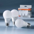 Osram LED BASE CLA60 9W 827 FR E27 Three Pack, Item no. 73413