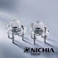 Nichia Superflux LED green 7lm NSPGR70BSS-P1/P2-G