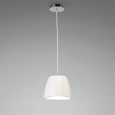 Mantra pendant light TRIANGLE SMALL 1L white white