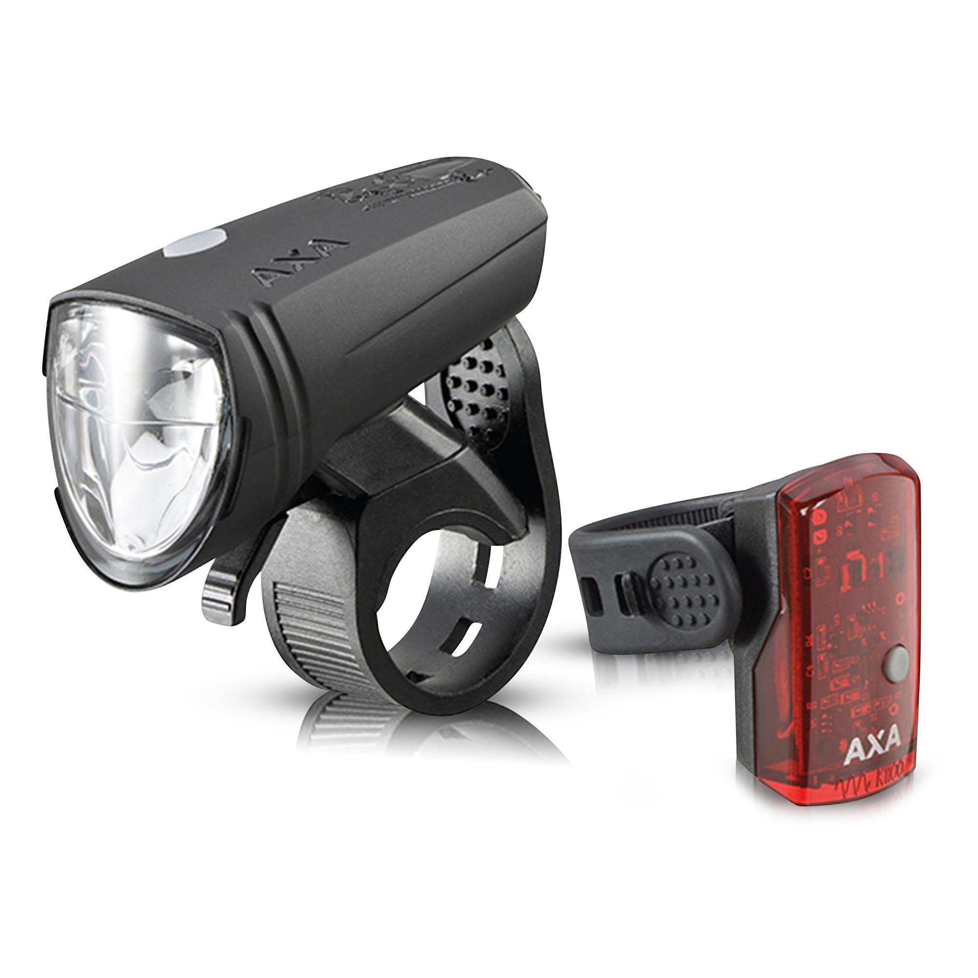 Axa Stenman Deutschland GmbH AXA Greenline 15 LED-Fahrrad-Lichtset