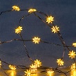 Blinking LED Fairylight(stars), 20 yellow LEDs, Item no. 92504