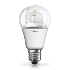Osram LED STAR CLA40 5W 827 clear E27