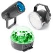 BeamZ Light Package 1. Moon,Strobe, Star, Item no. 30402