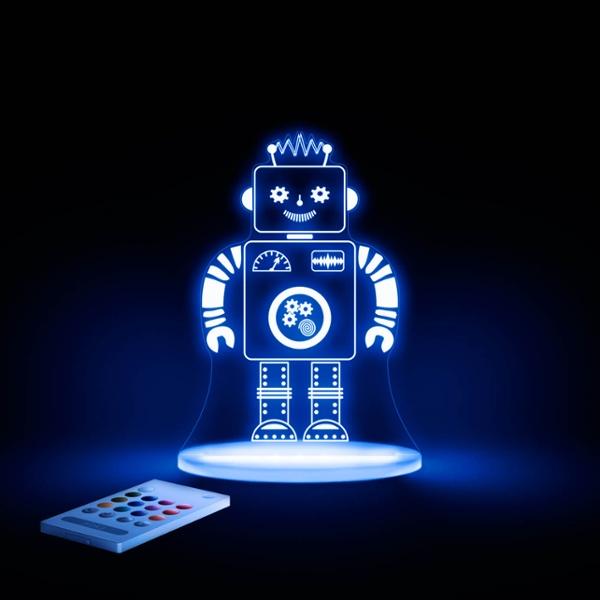 Led Night Light Robot The Leading Led Shop By Lumitronix