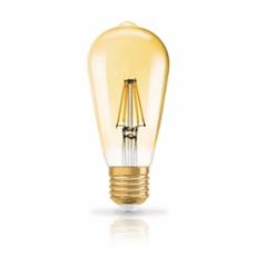 Osram LED VINTAGE 1906 DIM CLASSIC EDISON 50 7W 824 E27 GOLD, ArtNr. 73444