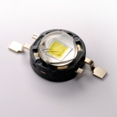 Seoul Z-Power LED P4, warm-white, 145lm, with PCB (Star) with PCB (Star)
