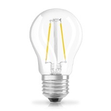 Osram LED RETROFIT P15 1,3W E27 clear non dim