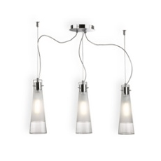 Ideal Lux KUKY CLEAR SP3 Pendelleuchte, ArtNr. 43694