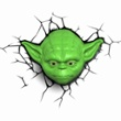 3D Wall light Star Wars Yoda, Item no. 30064